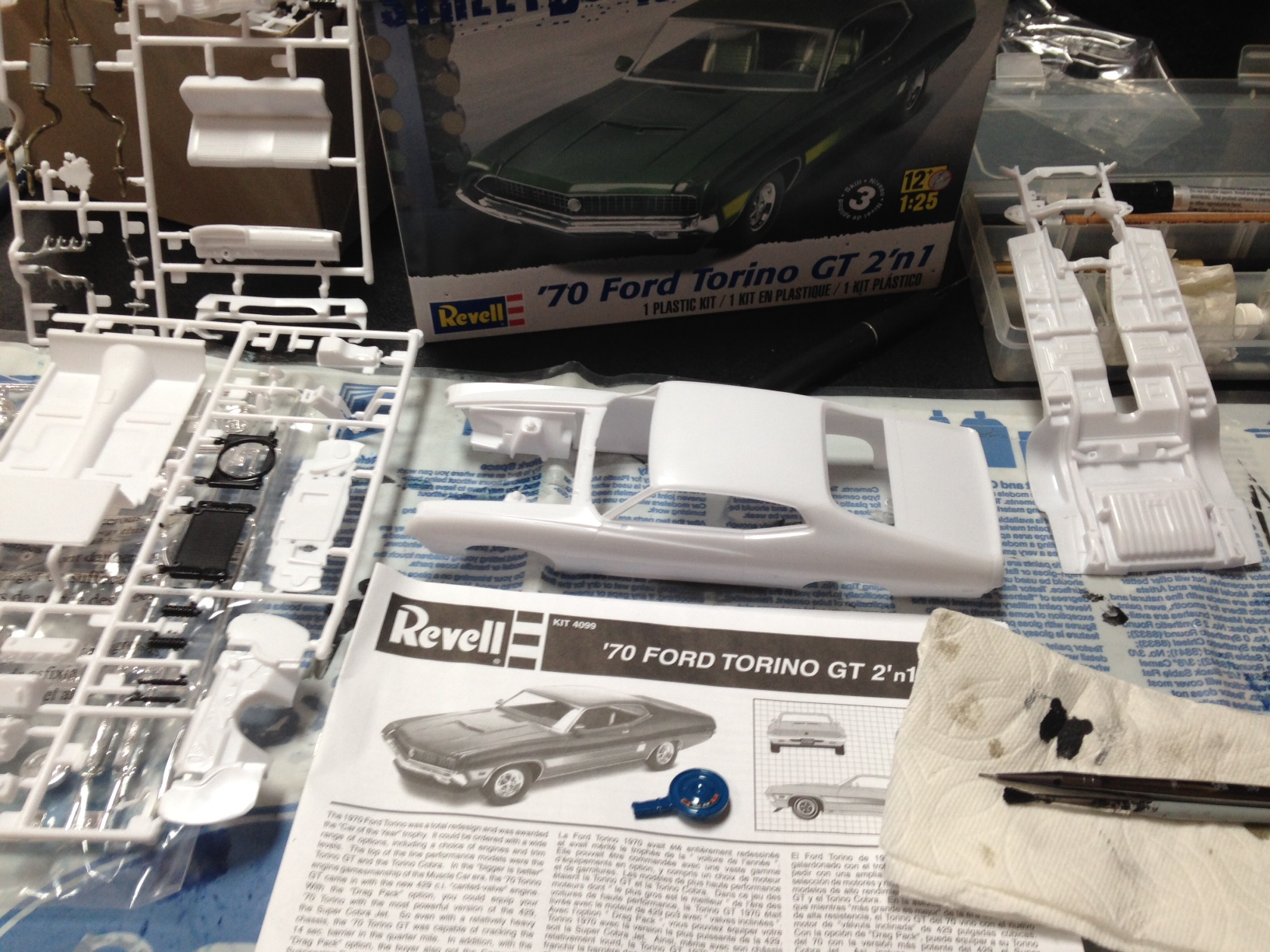 1970 Torino Gt Convertible Scale Auto Magazine For Building Ford Tags 351c
